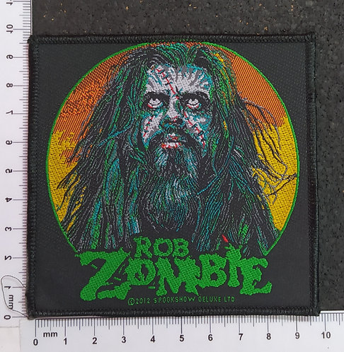 ROB ZOMBIE - ZOMBIE FACE WOVEN PATCH
