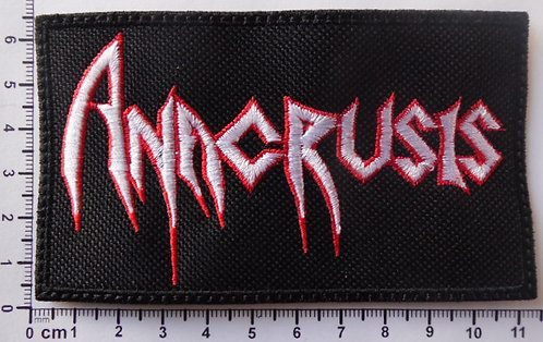ANACRUSIS  - LOGO EMBROIDERED PATCH