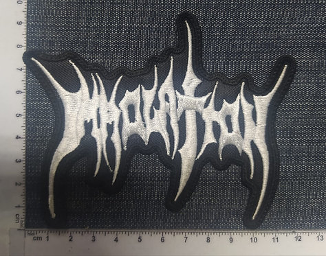 IMMOLATION - SHAPED LOGO EMBROIDERED PATCH