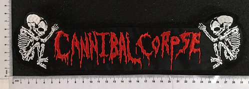CANNIBAL CORPSE - NAME+FETUS EMBROIDERED BACK PATCH