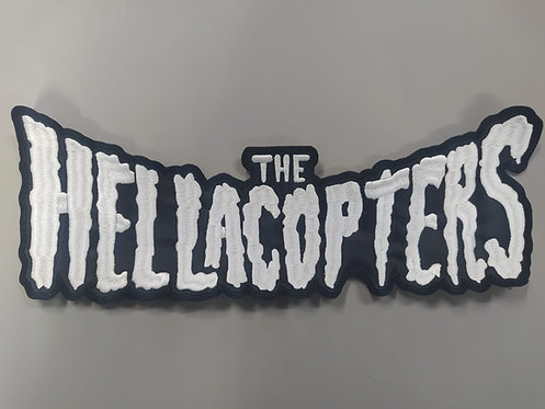 HELLACOPTERS, THE - LOGO EMBROIDERED BACKPATCH