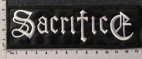 SACRIFICE - LOGO EMBROIDERED PATCH