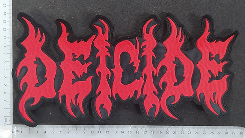 DEICIDE - LOGO EMBROIDERED BACK PATCH