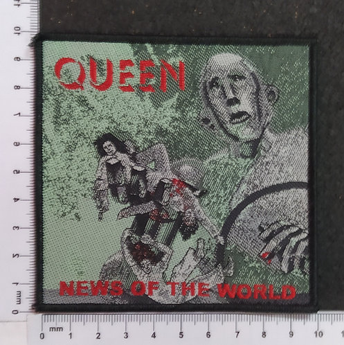 QUEEN - NEWS OF THE WORLD WOVEN PATCH