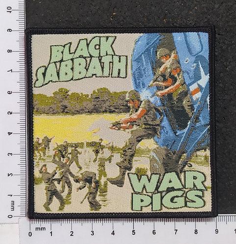BLACK SABBATH - WAR PIGS WOVEN PATCH