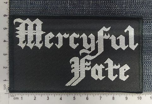 MERCYFUL FATE - OLD LOGO WOVEN PATCH