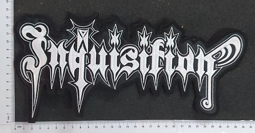 INQUISITION - LOGO EMBROIDERED BACKPATCH