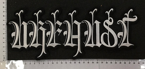 URFAUST - LOGO EMBROIDERED BACK PATCH