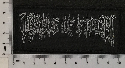 CRADLE OF FILTH - LOGO WOVEN PATCH