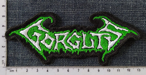GORGUTS - LOGO EMBROIDERED PATCH