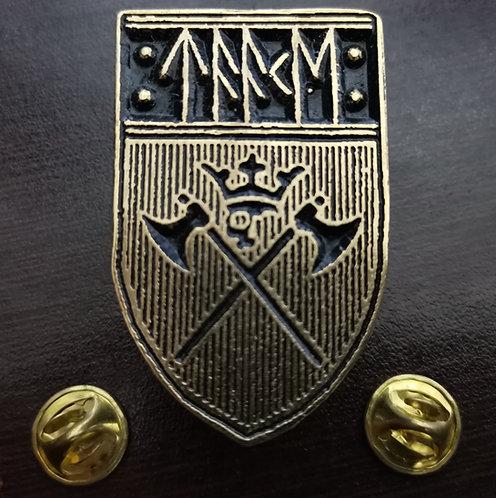 TAAKE - SHIELD  (Gold) Metal Pin