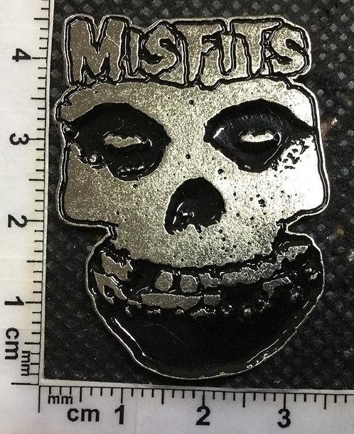 MISFITS - FACE Metal Pin