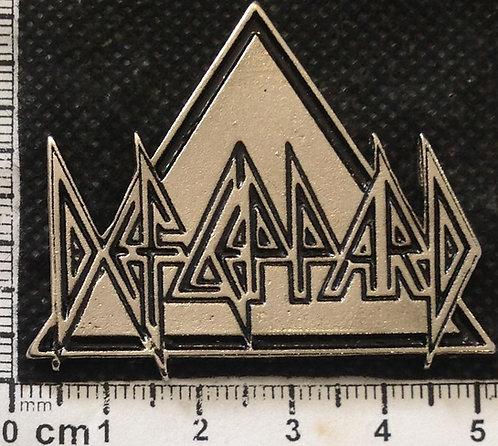 DEF LEPPARD TRIANGLE -  Metal Pin