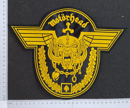 MOTORHEAD - WINGS EMBROIDERED BACK PATCH