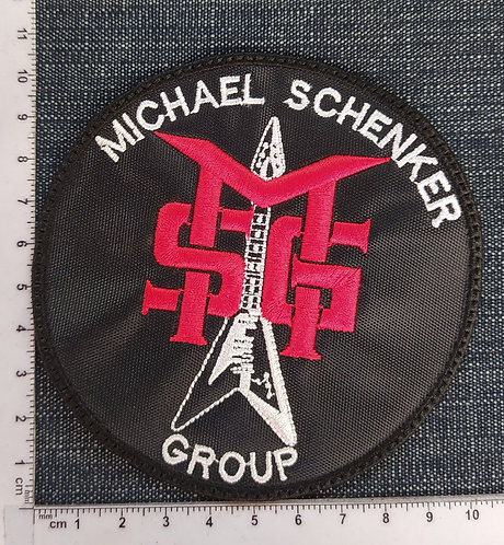 MSG - CIRCLE EMBROIDERED PATCH