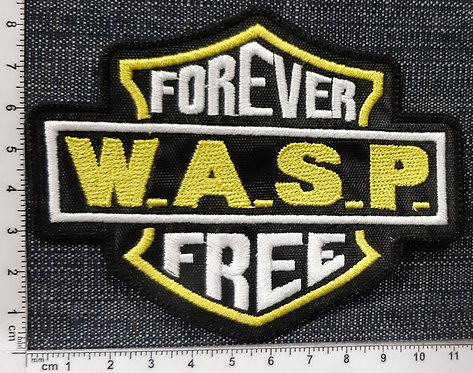 WASP - FREE FOREVER Patch