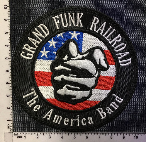GRAND FUNK RAILROAD - THE AMERICA BAND EMBROIDERED PATCH