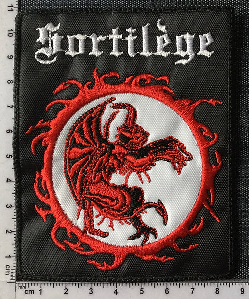 SORTILEGE - SORTILEGE EMBROIDERED PATCH