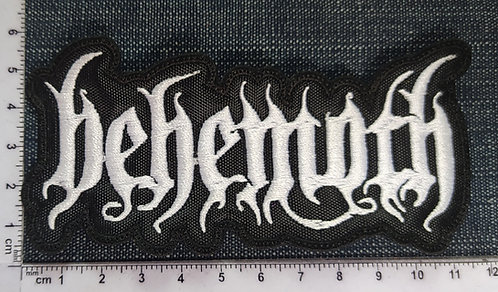 BEHEMOTH - SHAPED LOGO EMBROIDERED PATCH