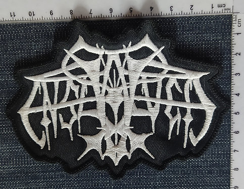ENSLAVED - LOGO EMBROIDERED PATCH