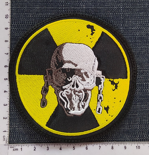 MEGADETH - RADIOACTIVE EMBROIDERED PATCH
