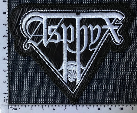 ASPHYX - SHAPED EMBROIDERED PATCH