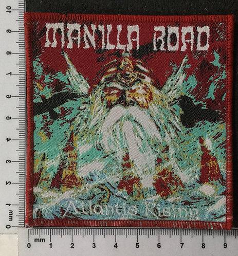 MANILLA ROAD - ATLANTIS RISING WOVEN PATCH