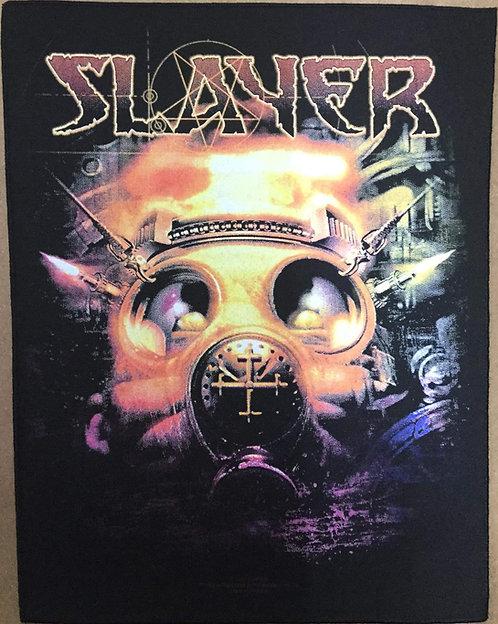 SLAYER - Face Mask Back Patch