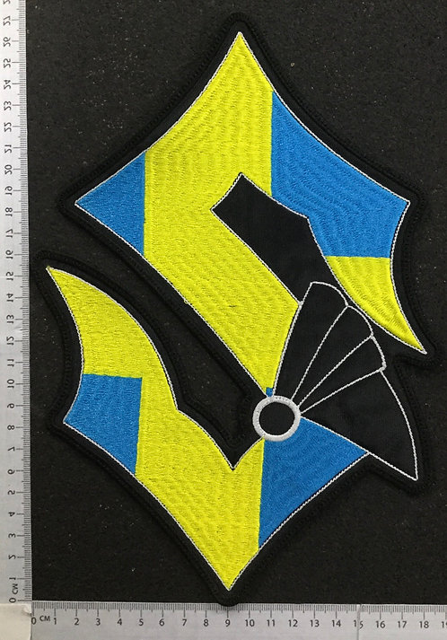 SABATON - SWEDEN EMBROIDERED BACK PATCH