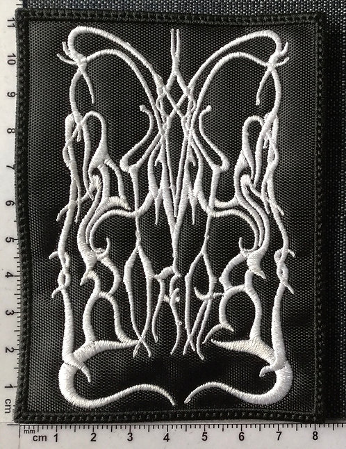 DIMMU BORGIR - LOGO EMBROIDERED PATCH