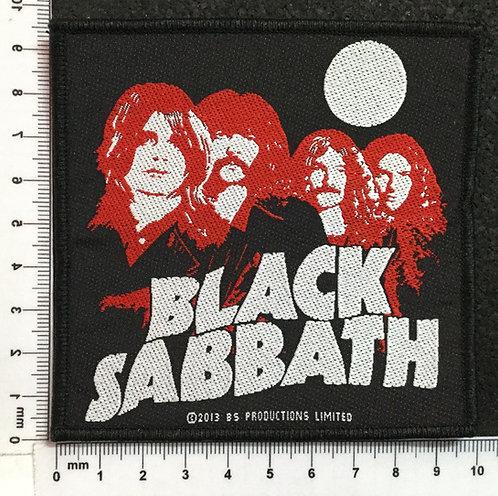 BLACK SABBATH - BAND WOVEN PATCH