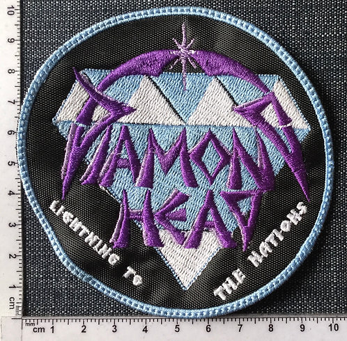 DIAMOND HEAD - CIRCLE EMBROIDERED PATCH