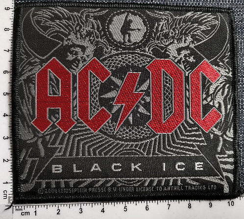 AC/DC - Black Ice Woven Patch