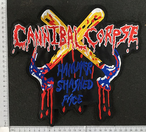 CANNIBAL CORPSE - HAMMER... EMBROIDERED BACK PATCH