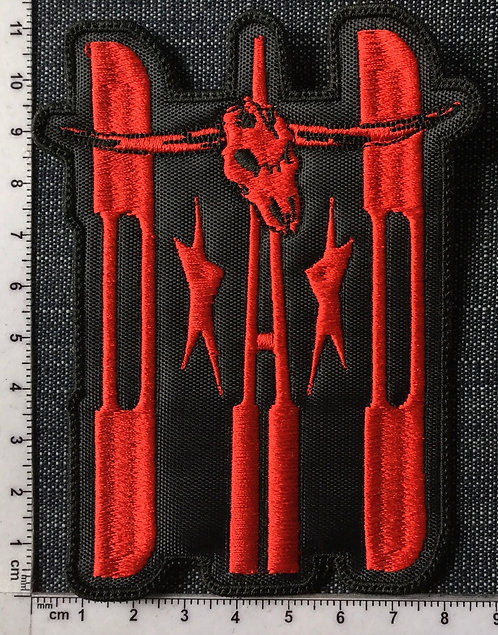 D. A. D. - LOGO EMBROIDERED PATCH