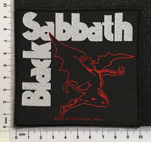BLACK SABBATH - LOGO WOVEN PATCH