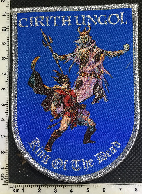 CIRITH UNGOL - KING OF THE DEAD WOVEN PATCH