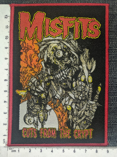 MISFITS -CUTS FROM THE CRYPT WOVEN PATCH