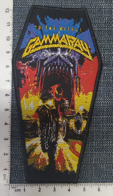 GAMMARAY - TO THE METAL! WOVEN PATCH
