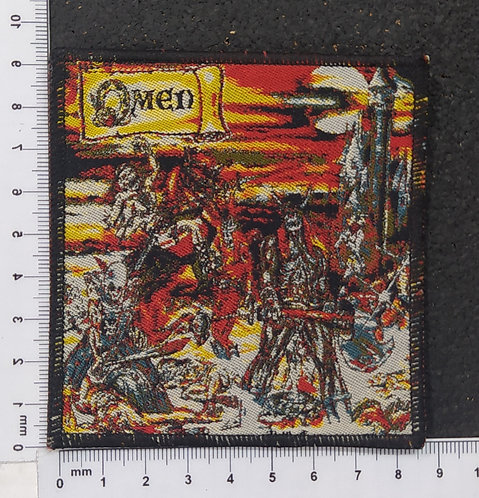 OMEN - BATTLE CRY WOVEN PATCH