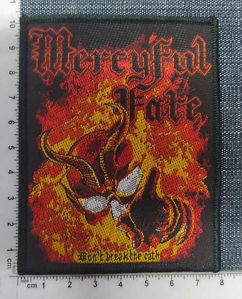 MERCYFUL FATE - DON´T BRAKE THE OATH WOVEN PATCH