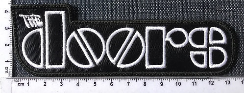 THE DOORS -  LOGO EMBROIDERED PATCH