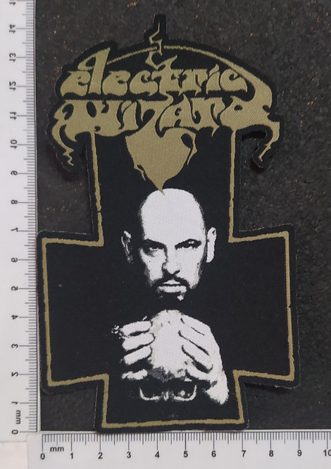ELECTRIC WIZARD - CROSS WOVEN PATCH