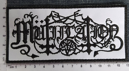 MUTILLATION - LOGO EMBROIDERED PATCH