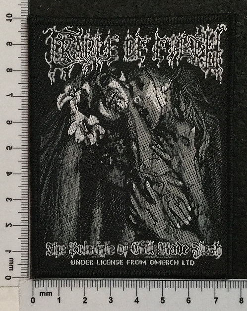 CRADLE OF FILTH - THE PRINCIPLE OF EVIL... WOVEN PATCH