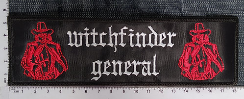 WITCHFINDER GENERAL - STRIP EMBROIDERED PATCH