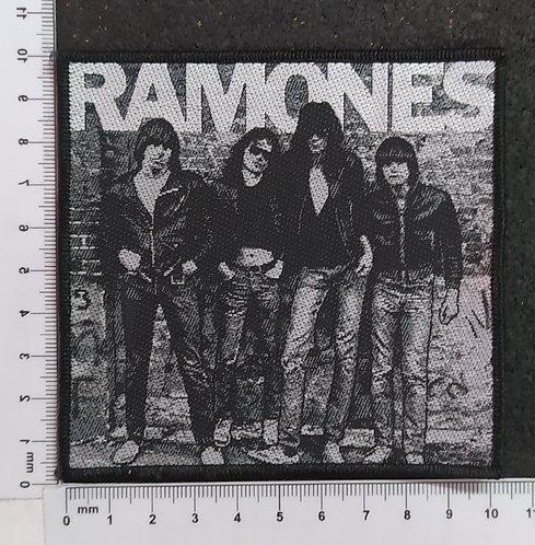 RAMONES - MEMBERS WOVEN PATCH