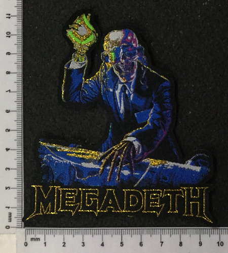 MEGADETH - RUST IN PEACE WOVEN PATCH