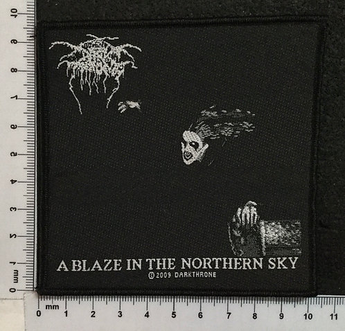 DARK THRONE - A BLAZE IN THE NORTHERN SKY WOVEN PATCH