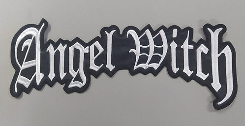 ANGEL WITCH - LOGO EMBROIDERED BACK PATCH